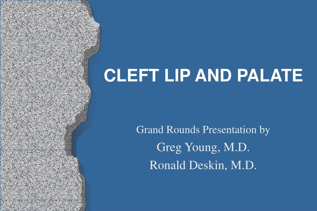 cleft lip and palate l.
