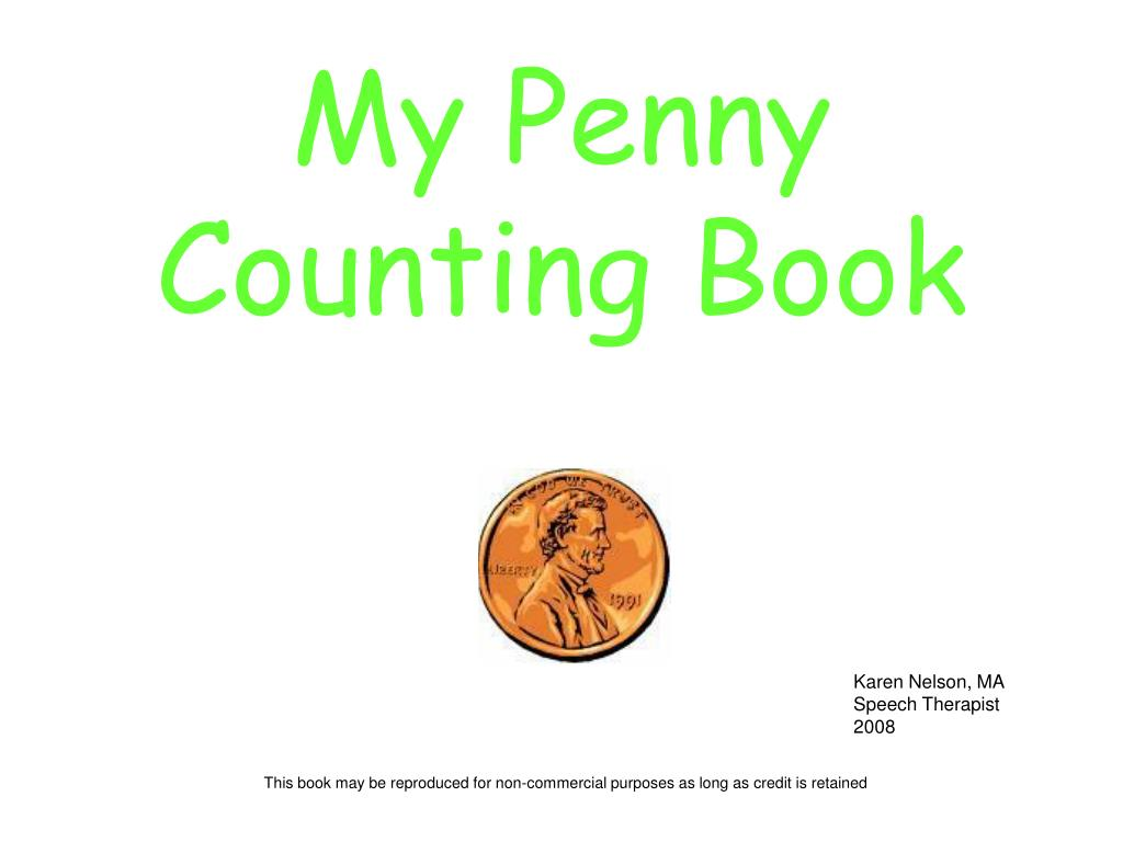my penny counting book l.