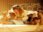 promoting literacy through play environment10