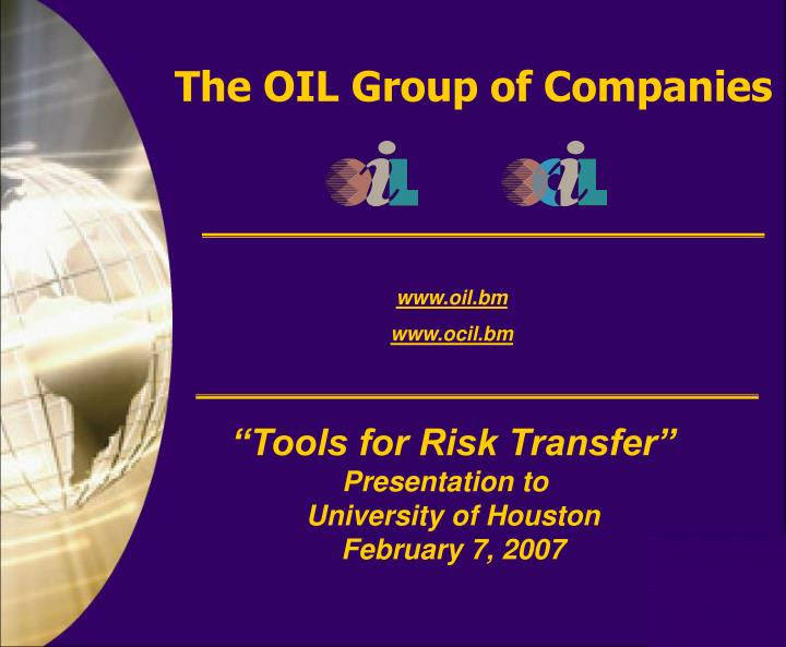the oil group of companies n.