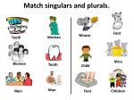 match singulars and plurals11