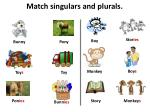 match singulars and plurals9