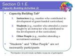 section d 1 e capacity building activities 2