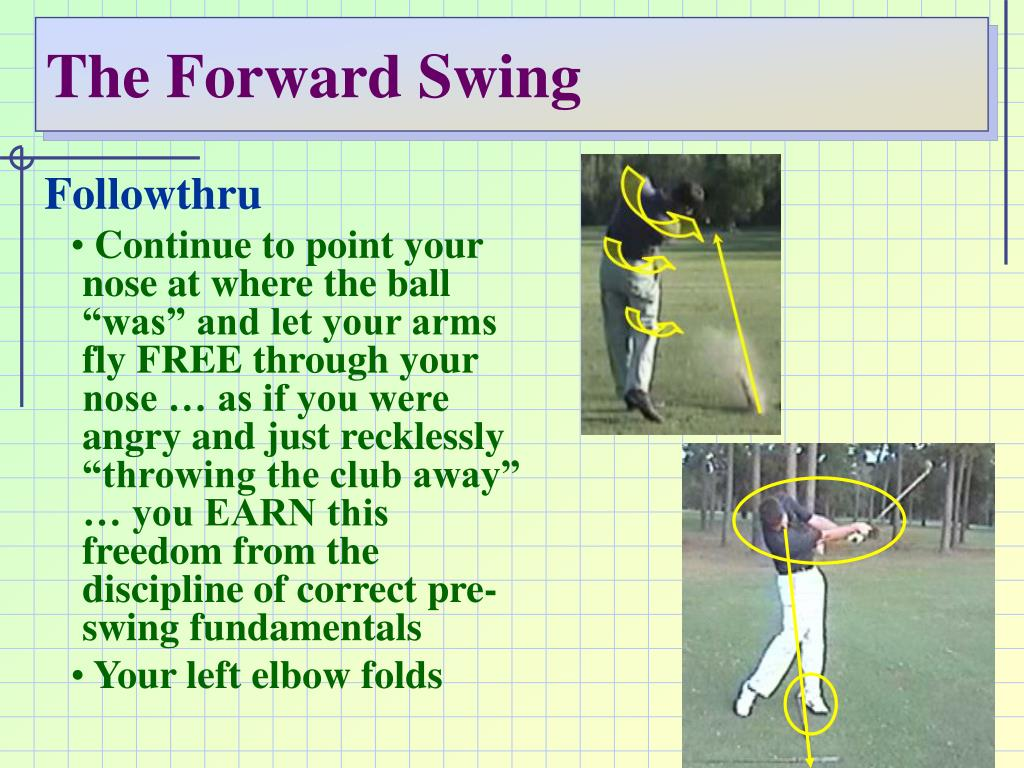 The Forward Swing