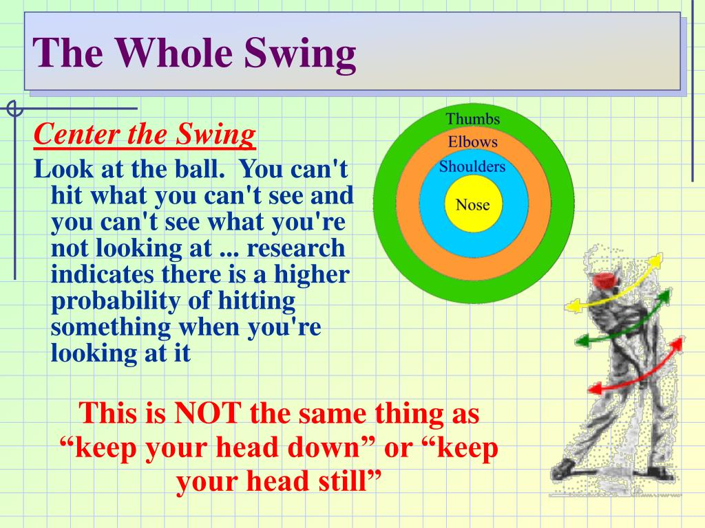 The Whole Swing