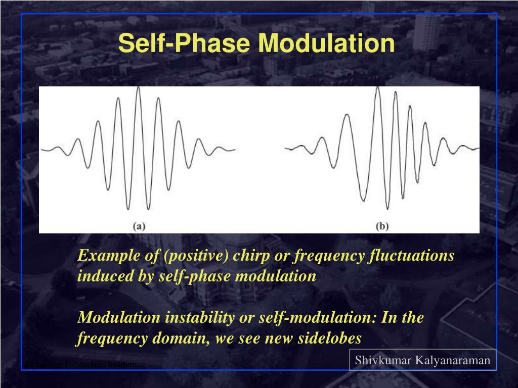 Self-Phase Modulation