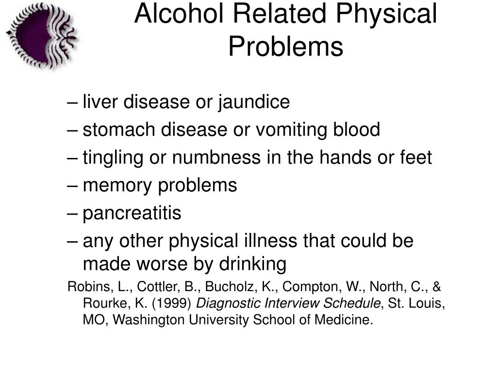 Alcohol Related Physical Problems