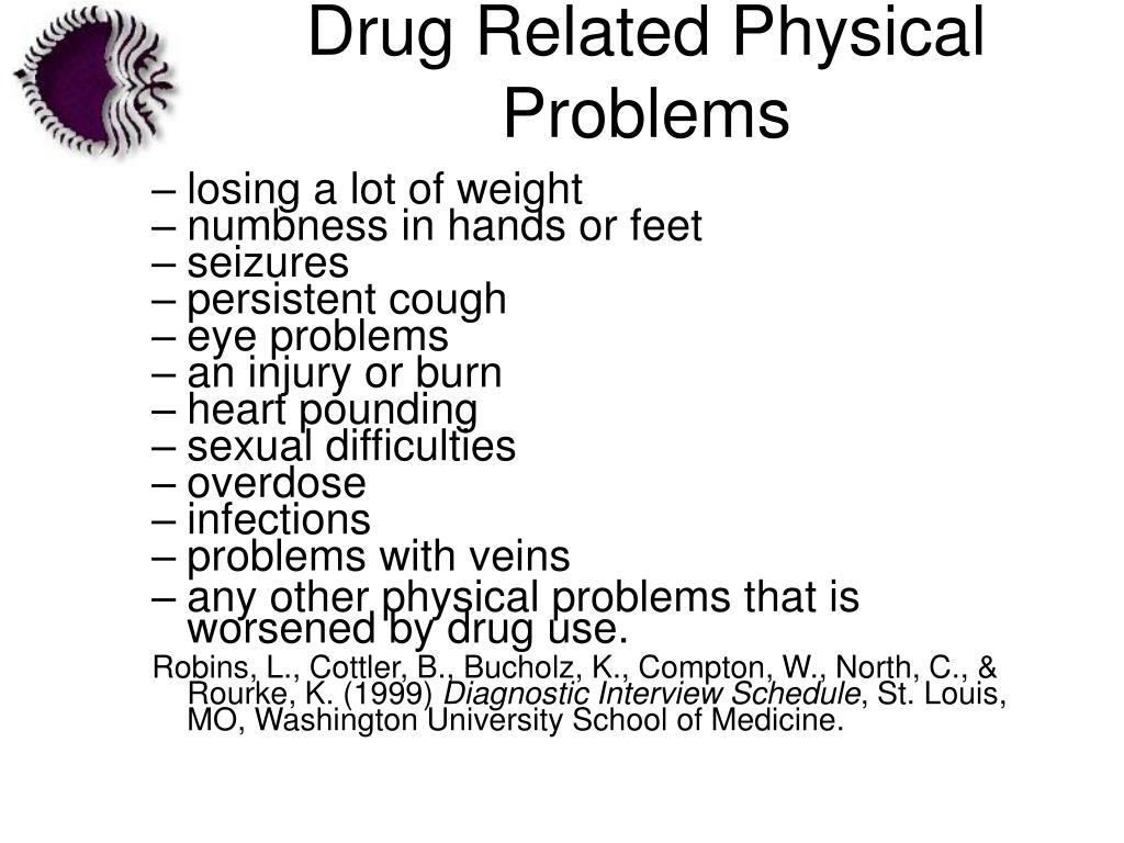 Drug Related Physical Problems