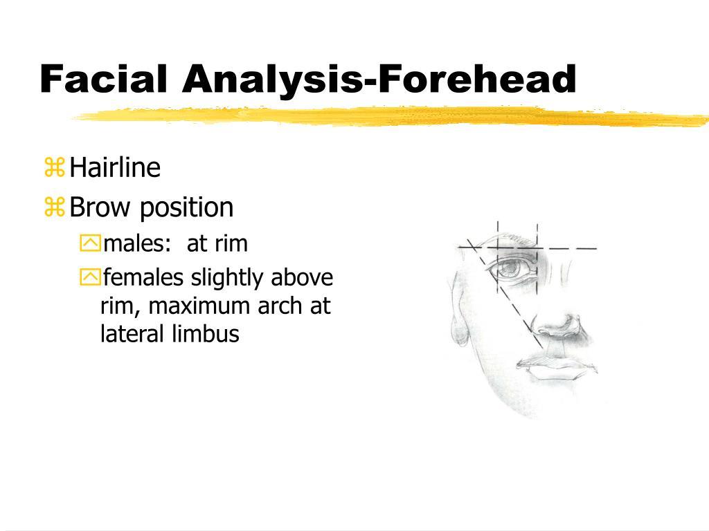 Facial Analysis-Forehead