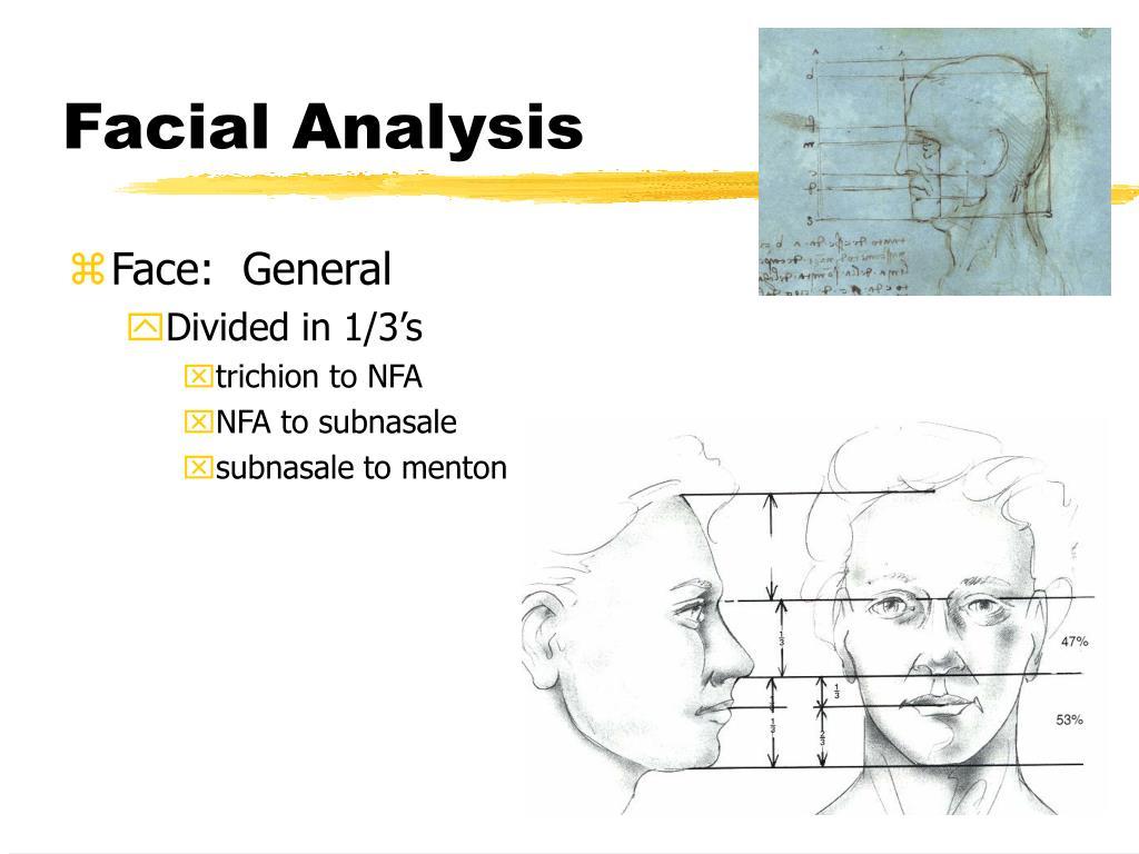 Facial Analysis