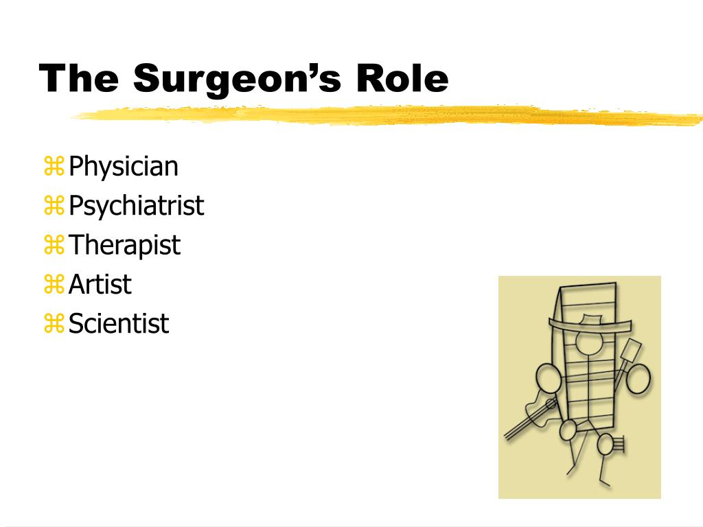 The Surgeon's Role