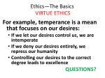 ethics the basics virtue ethics16