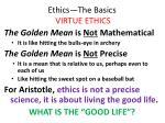 ethics the basics virtue ethics17