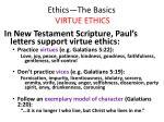 ethics the basics virtue ethics28