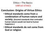ethics the basics virtue ethics38