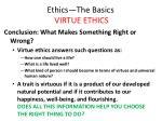 ethics the basics virtue ethics41