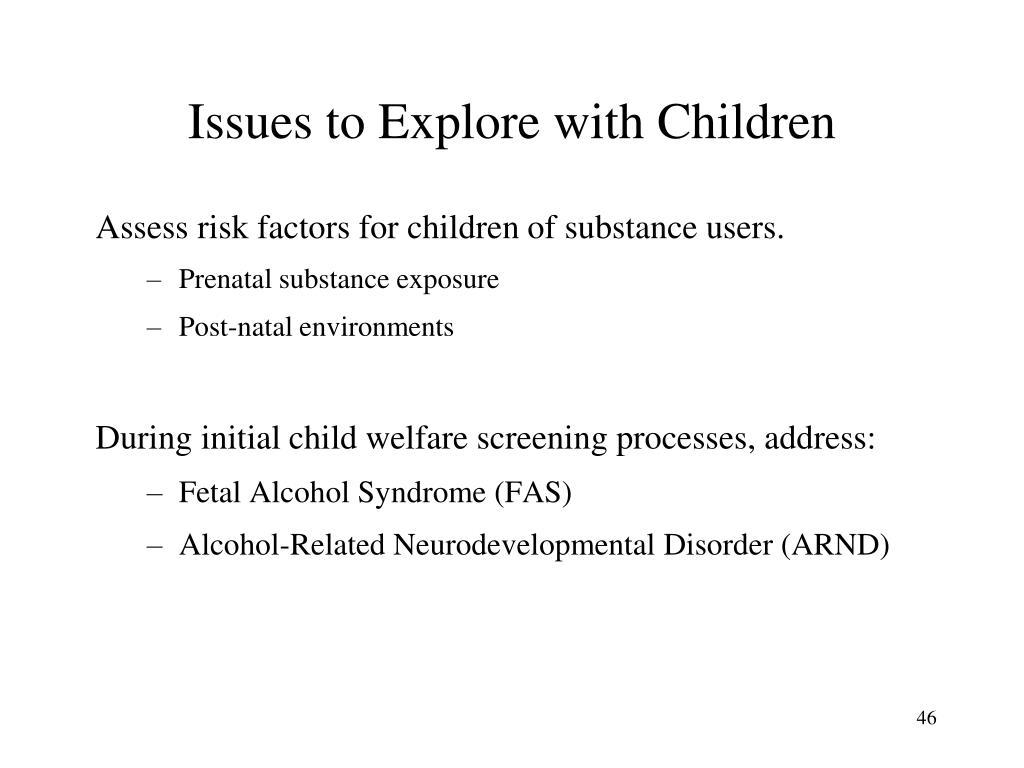 Issues to Explore with Children