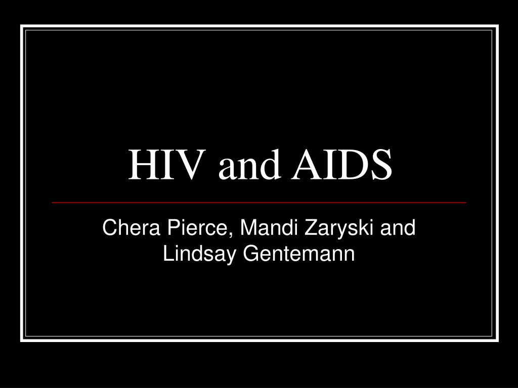 hiv and aids l.