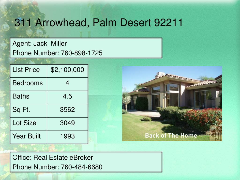 311 Arrowhead, Palm Desert 92211