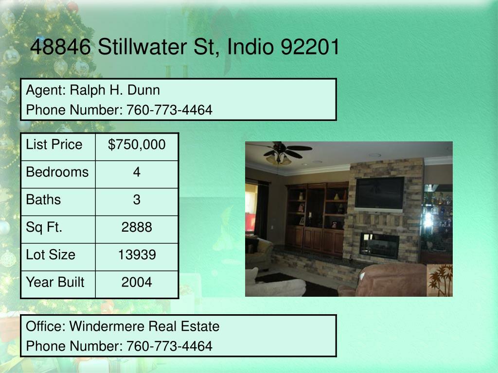 48846 Stillwater St, Indio 92201