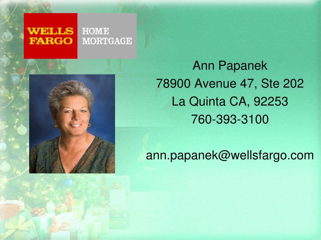 Ann Papanek