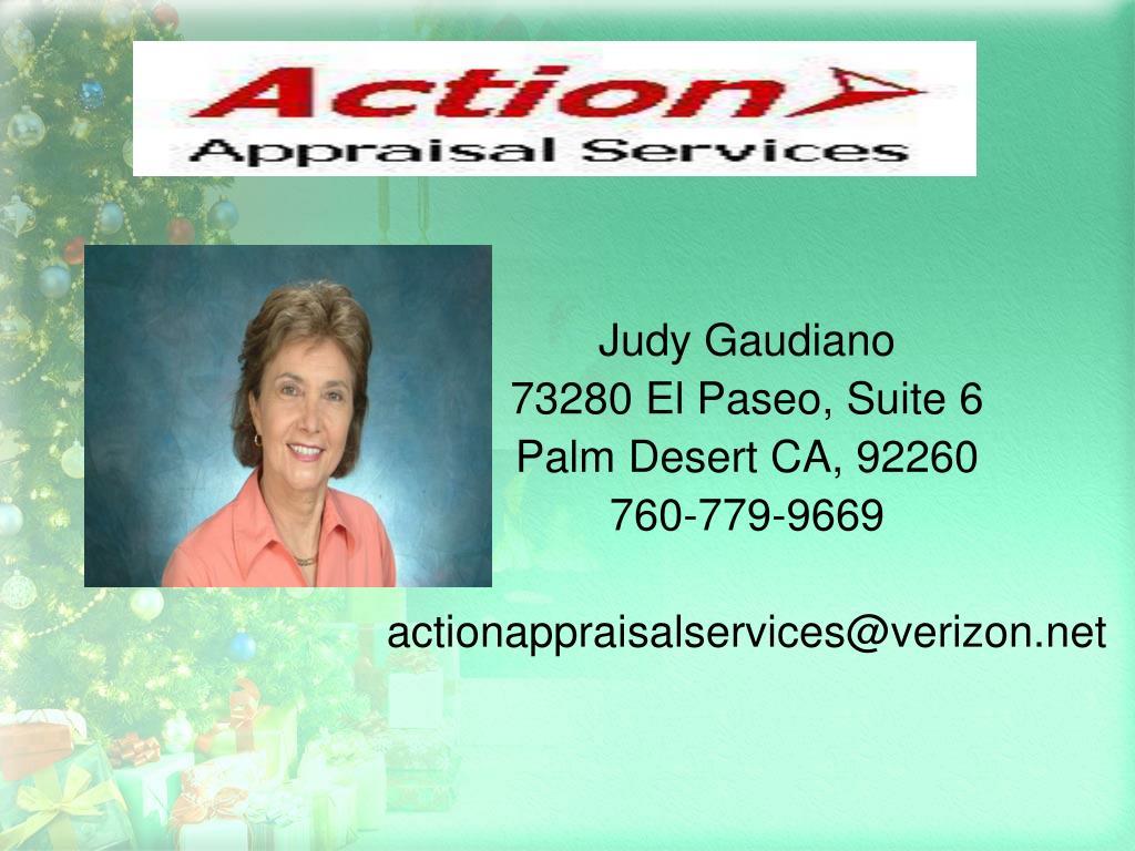 Judy Gaudiano
