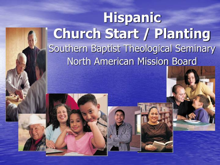 Hispanic church start planting