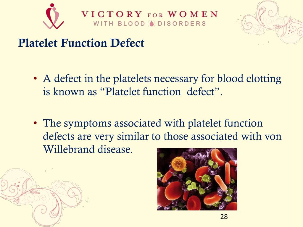 Platelet Function Defect