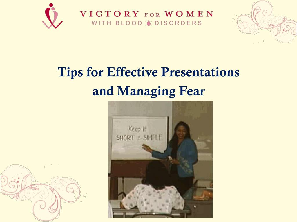Tips for Effective Presentations