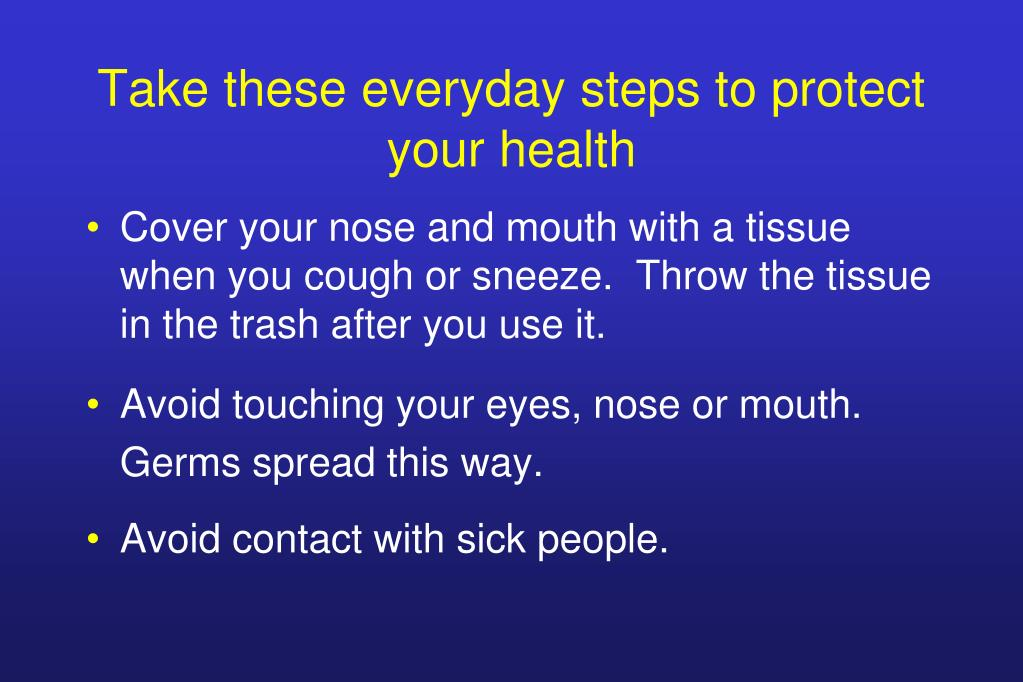 Take these everyday steps to protect