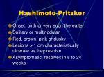 hashimoto pritzker