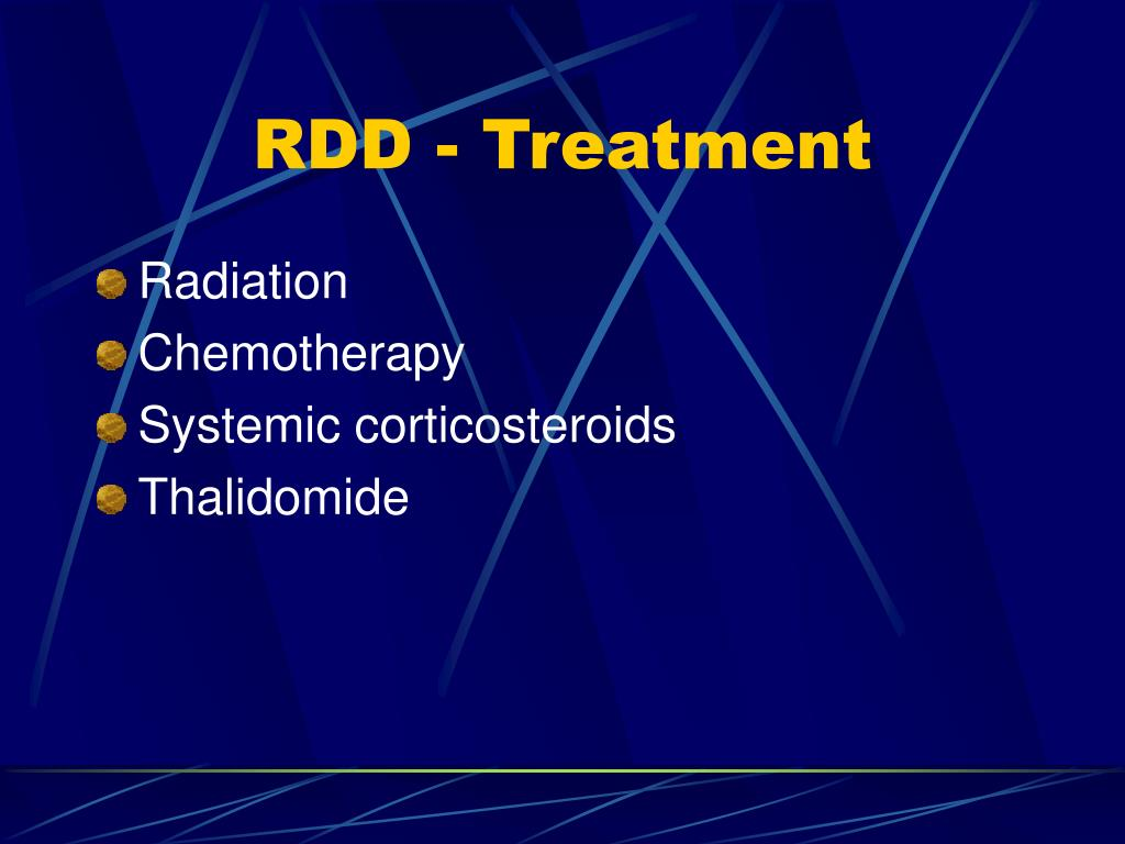 RDD - Treatment