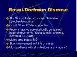 rosai dorfman disease