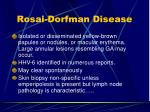 rosai dorfman disease124