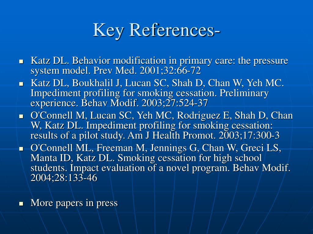 Key References-
