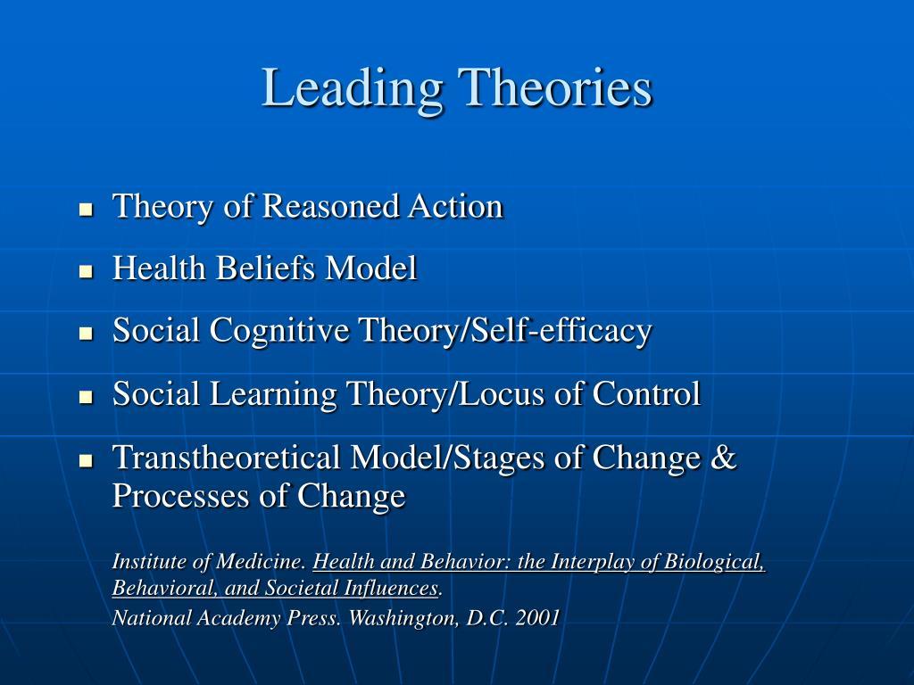 Leading Theories