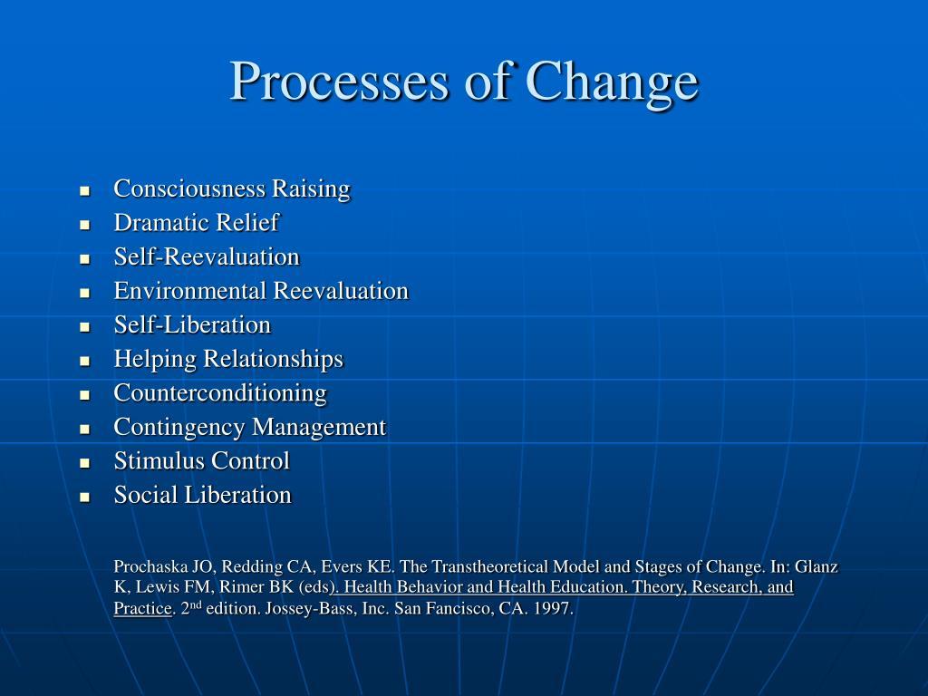 Processes of Change