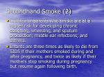secondhand smoke 2