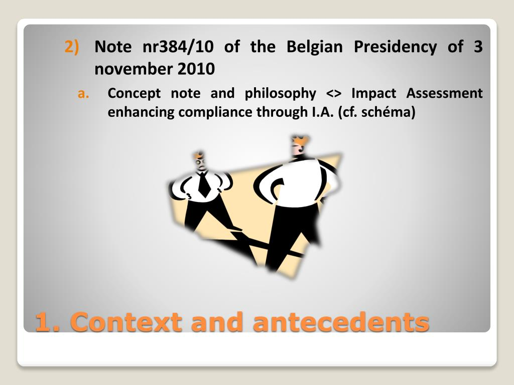 Note nr384/10 of the Belgian Presidency of 3 november 2010