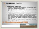 2 the methodology ferm