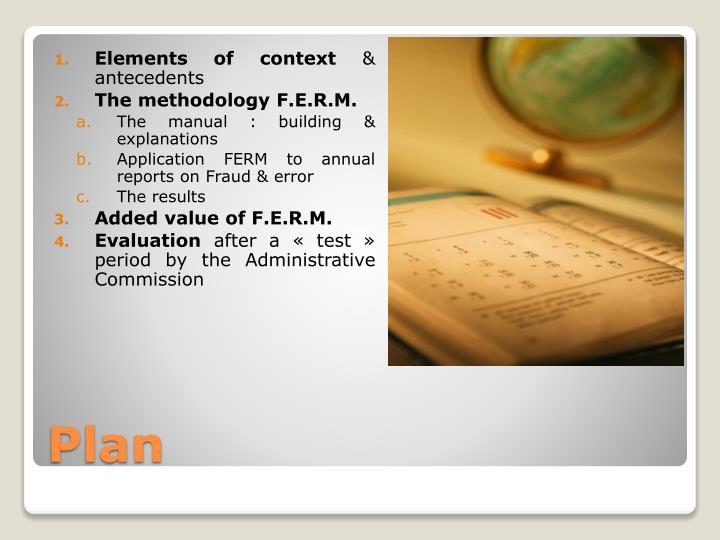 Elements of context