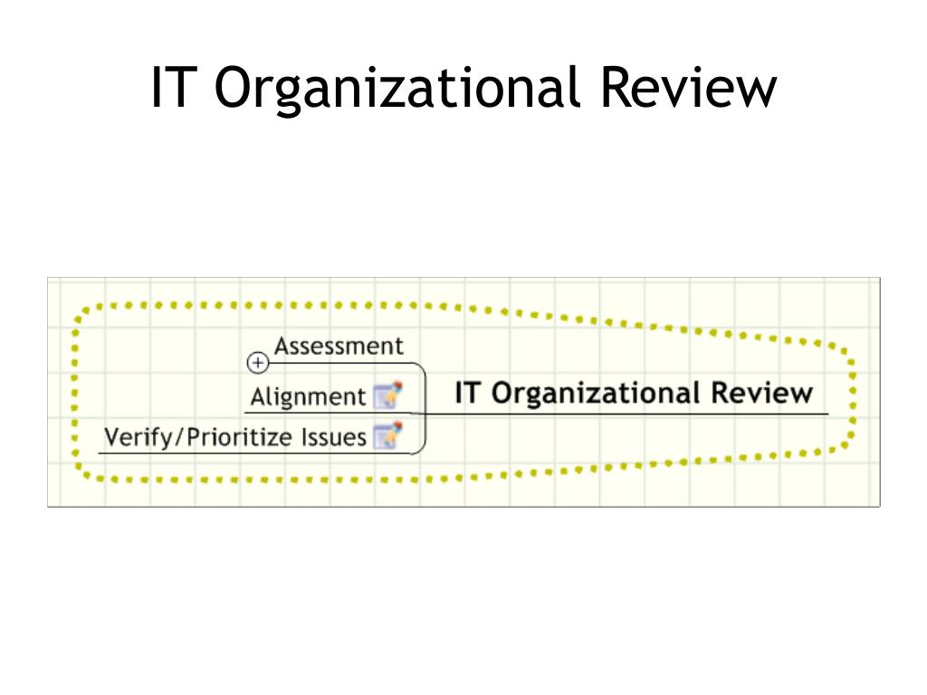 IT Organizational Review