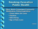 smoking cessation public health