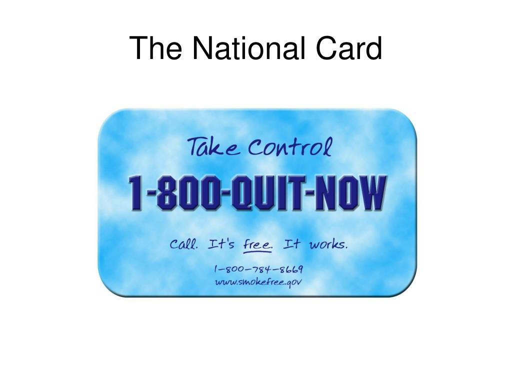 The National Card