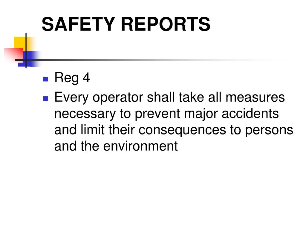 safety reports l.