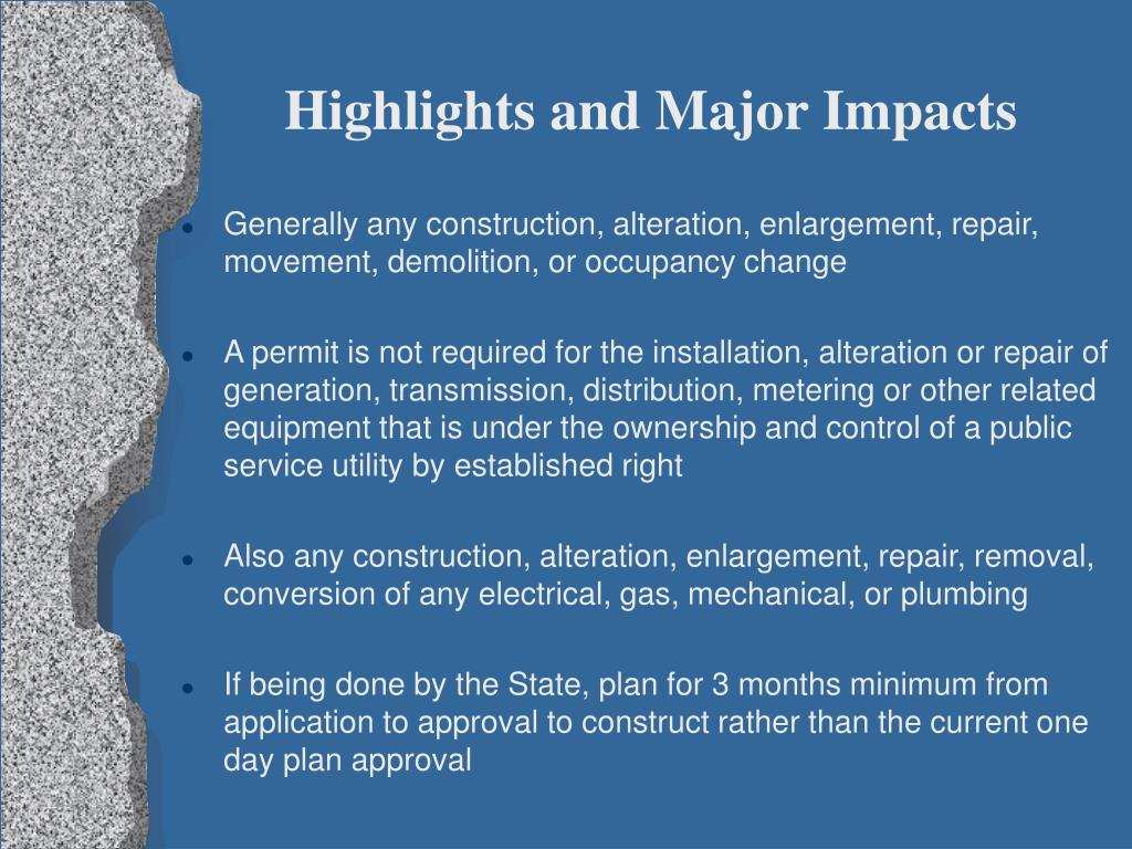 Highlights and Major Impacts