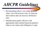 ahcpr guidelines107