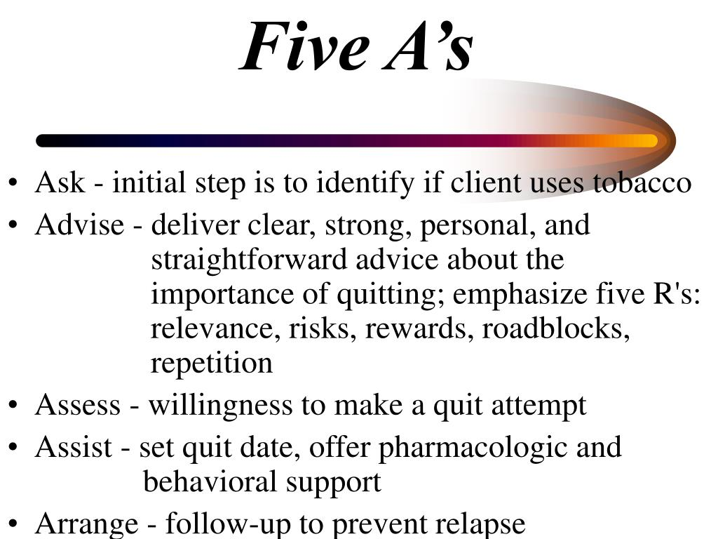Five A's