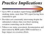 practice implications