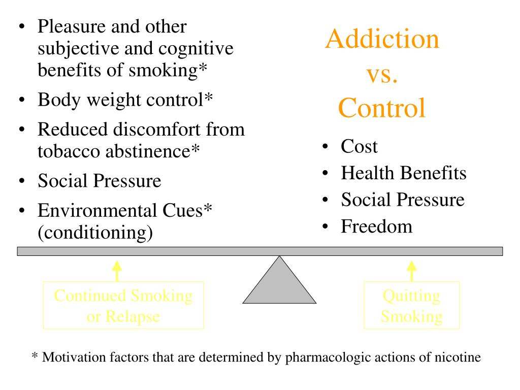 Pleasure and other subjective and cognitive benefits of smoking*